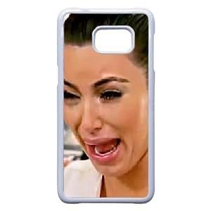 Samsung Galaxy S6 Edge Plus Case (TPU),Samsung Galaxy S6 Edge Plus Cell phone case White for kim kardashian crying - KKHG5336426