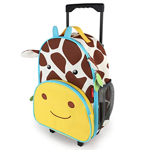 (Skip Hop Kids Luggage With Wheels, Giraffe)
