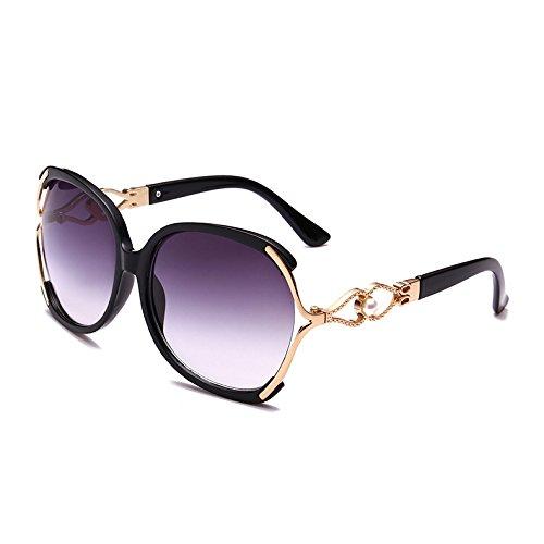 lujo mujer Leopard Sunglasses TL sol gafas Azul de Señoras Black C1 Butterfly Vintage sobredimensionado C4 n8xaRq