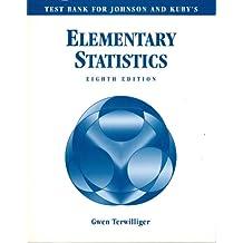 Test Bank for Johnson & Kuby's Elementary Statistics