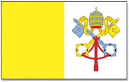 Fahnen Flagge Vatikan Vatican Neu 90 x 150 cm