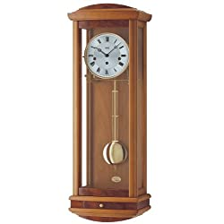AMS Regulator wall clock, 8 day running time from