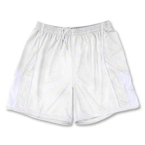 Diadora Quadro Shorts, White, Youth Small