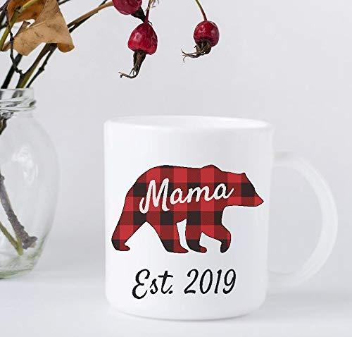 Amazon Com Coffee Mug Mama Bear 2019 Buffalo Plaid Mother S