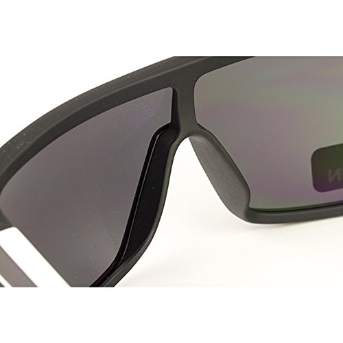 Spy Optic Flynn 673016373129 Flat Sunglasses, One Size (Matte Ebony/Ivory Frame/Grey Lens)