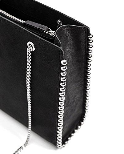 Zara Damen Shoppertasche mit nieten 8040/204