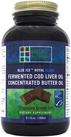 BLUE ICE™ Royal Butter Oil/Fermented Cod Liver Oil Blend-Chocolate Cream