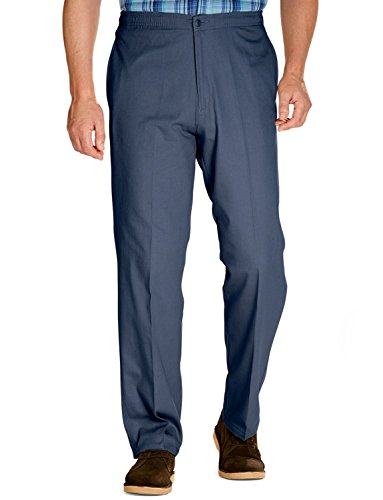 Mens Coton Elasthanneicated Rugby Trousers With Drawcord 34W27L Airforce