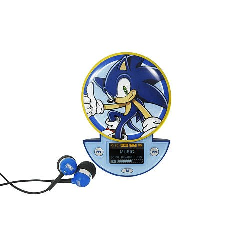 Sonic the Hedgehog MP3 Player: Amazon co uk: Toys & Games