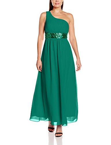 Green H Dress Evening Femme Grace dark My Robe CSU6w8q