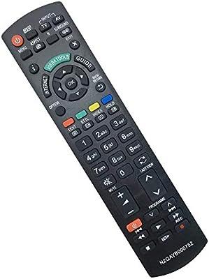 ALLIMITY N2QAYB000752 Sub N2QAYB000572 Mando a Distancia reemplazado por Panasonic Viera LCD LED TV TX-32LE60F TX-32LE60FM TX-32LE60P TX-32LE7FS TX-32LE7L TX-32LE7PA TX-32LM70LA TX-32LM70P TX-32LX6: Amazon.es: Electrónica