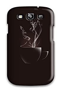 Rugged Skin Case Cover For Galaxy S3- Eco-friendly Packaging(drink)