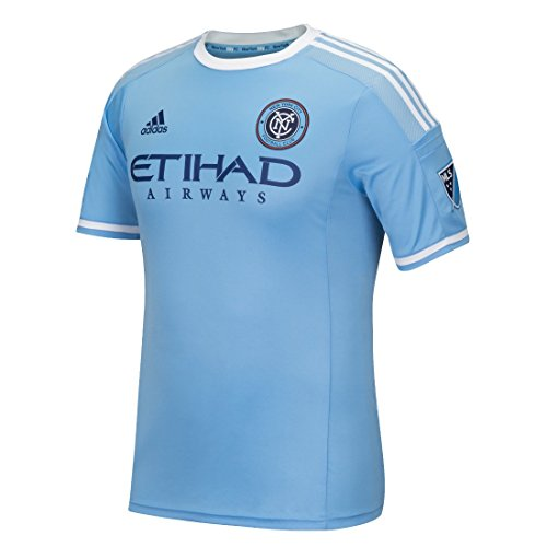 adidas New York City FC MLS Men's Authentic On-Field Climalite S/S Jersey