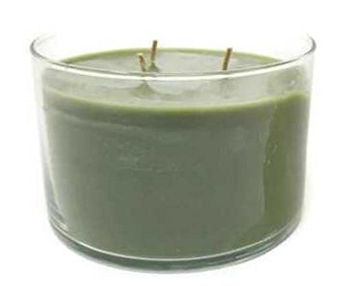 Long-burning Scented Jar Candle, (Bamboo Mist), 32 OZ Three-Wick Glass Jar, by - Wick Partylite Candles 3