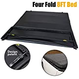 Gplus Truck Bed Tonneau Cover Fits for Ford F-150 8' Bed | Fits 8Ft Long Bed 2004-2008 05 06 07 08