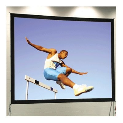 Fast Fold Portable Projection Screen Viewing Area: 10'6'' H x 14' W by Da-Lite