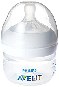Philips AVENT Natural BPA Free Polypropylene Bottle for Newborns, 2 Ounce (Pack of 2)