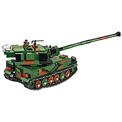 COBI Small Army Howitzer AHS Crab Tank Toy: Toys & Games