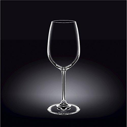 Wilmax 888013 420 ml Wine Glass Set of 644; Pack of 4