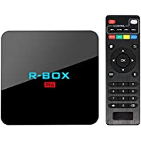 GZCRDZ Android TV box R BOX PRO BEST android 7.1 tv CPU amlogic-S912 17.0 media player RAM 3GB ROM 16GB bluetooth 4.0 set top box