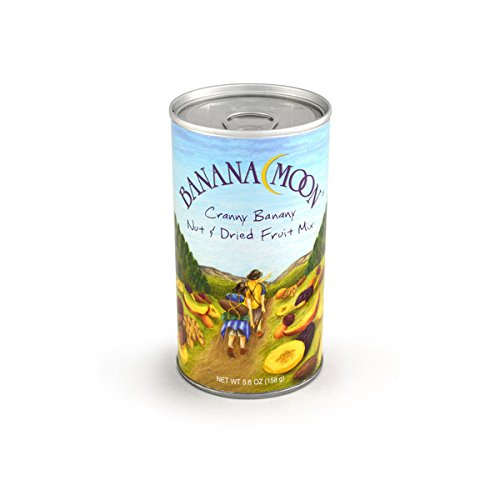 Cashews, Roasted & Salted, Banana Moon Tall Can 48ct/6oz by In-Room Plus, Inc.