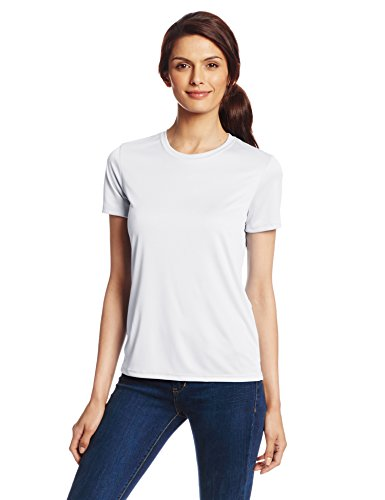 Hanes Sport Women's Cool DRI Performance Tee, White, Medium