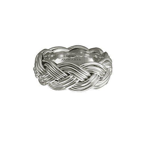 Amazon.com: Hand Woven 3 Strand Turks Head Rings Handmade Wedding ...