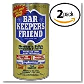 Bar Keepers Friend® Cleanser & Polish 12 Oz Two Pack
