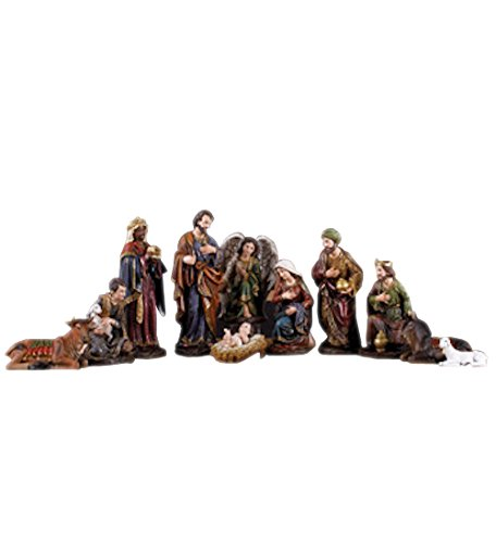 Napco Nativity Stoneware Set