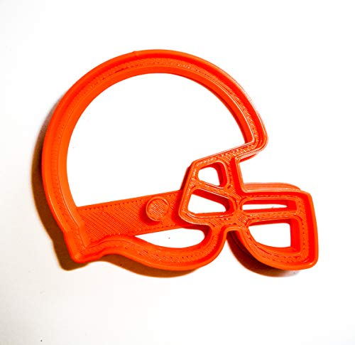 CLEVELAND BROWNS NFL FOOTBALL LOGO SPECIAL OCCASION COOKIE CUTTER BAKING TOOL 3D PRINTED MADE IN USA PR943 (Cookie Raiders Cutter)