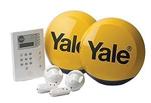 Yale HSA6400 - sistemas de alarma de seguridad (Color blanco, Botones, Sensor de infrarrojos)