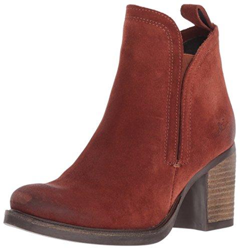 Co Waterproof Suede Boot - Bos. & Co. Women's Belfield Ankle Boot, Brick Oil Suede, 39 M EU (8-8.5 US)