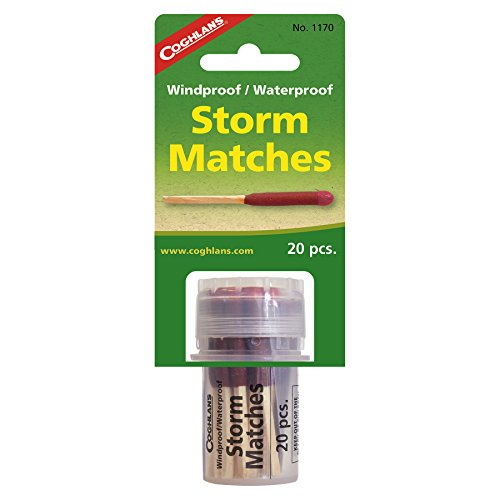 Coghlan's Windproof Storm Matches, 20-Count