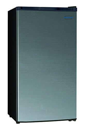 Marathon MAR32BLS Compact Refrigerator, Black Steel