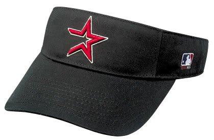 Houston Astros Officially Licensed MLB Adjustable Velcro Adult Visor