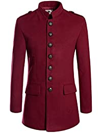 Amazon.com: Red - Wool & Blends / Jackets & Coats: Clothing, Shoes ...