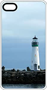 Lighthouse White Rubber Case for Apple iPhone 4 or iPhone 4s