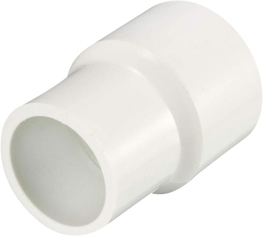 sourcing map Pvc de 110 mm x 50 mm que reduce el cubo de acoplamiento por el conector del adaptador del adaptador de tuber/ía del cubo