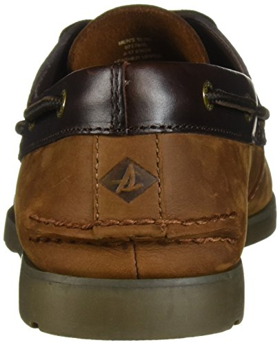 Barca da Chambray Top Sperry Brown nbsp; nbsp;Scarpe Uomo Leeward Buck Sider Xqx1qPwIS