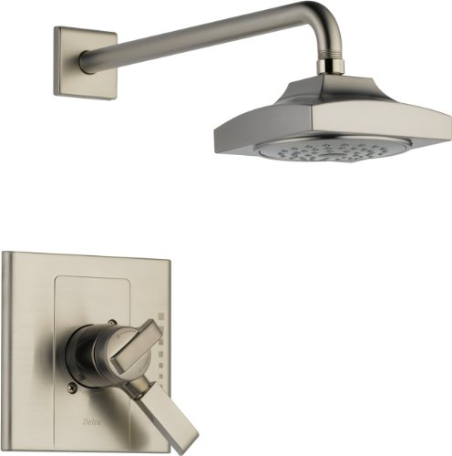 Delta T17286-SS Arzo Monitor 17 Series Shower Trim, Stainless (Arzo Series Single Handle)