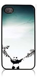 HeartCase Hard Case for Iphone 4 4G 4S (Panda Cut Pattern )