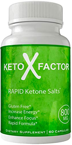 Keto X Factor Weight Loss Supplement - Weightloss Diet Pills Products Keto Trim BHB Salts | Thermogenic Tone Fat Loss Blend Weigh Pills for Women Men Natural Weight Loss Original Boost Your Mojo