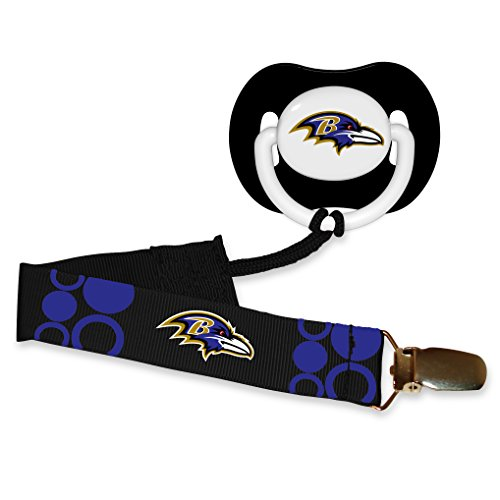 Baby Fanatic Pacifier Baltimore Ravens