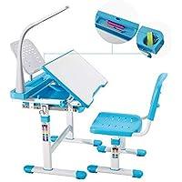 mecor Kinderschreibtisch mit Stuhl und Schublade, Höhenverstellbar Schülerschreibtisch Jugendschreibtisch für Kinder, Multifunktionale Schreibtisch Set, Arbeitsplatz mit Lagerung