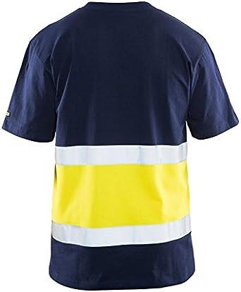 Blaklader Workwear Sweatshirt with Zip Navy Blue