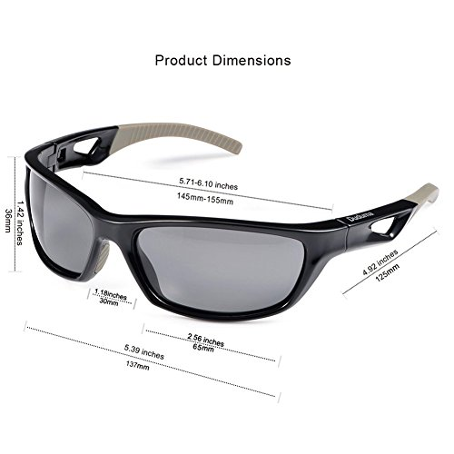 b482ff776f Duduma Polarized Sport Mens Sunglasses for Baseball Fishing Golf Running  Cycling with Fashion Women Sunglasses and