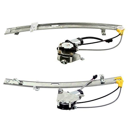 Prime Choice Auto Parts WR848269PR Rear Window Regulator Pair