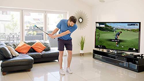 Golf simulator with swing stick