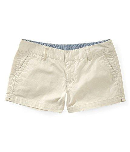 Aeropostale Womens Khaki Shorty Shorts