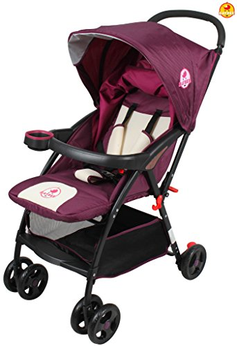 BAYBEE Hubble Baby Stroller, Purple